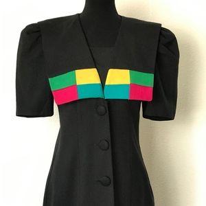 Vintage 80s Dress 10